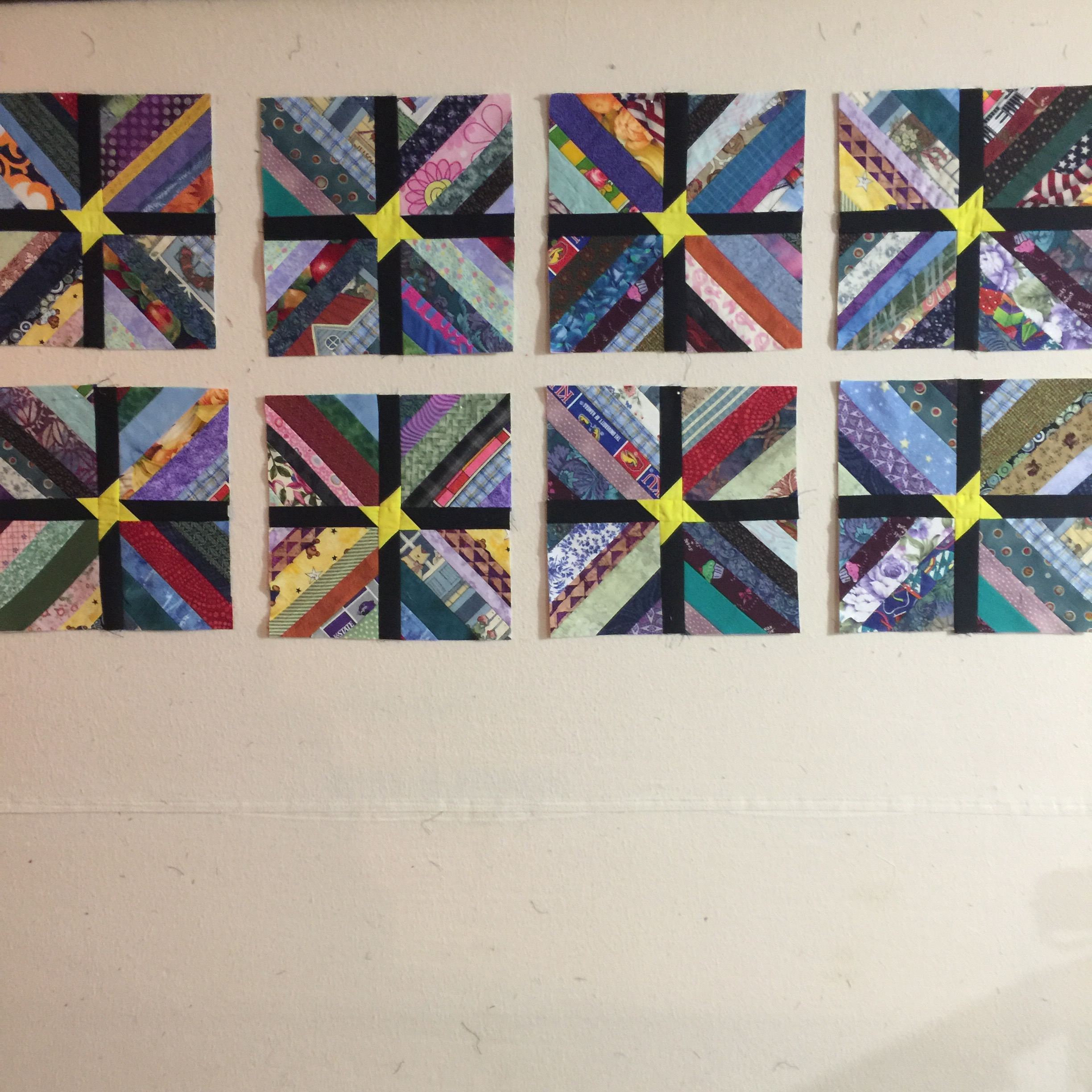 Design Wall 12 19 16 The Next String Quilt Always Quilts
